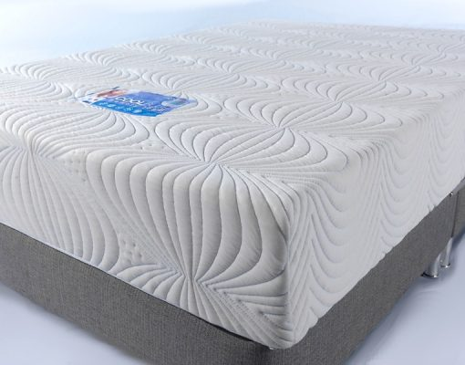 CoolBlue Memory Foam Mattress Rectangular Section Cut