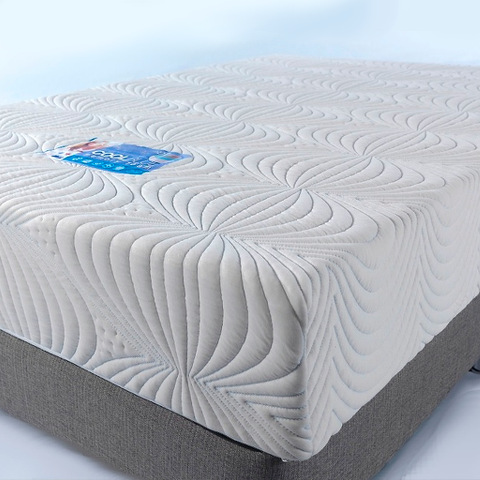 Custom Size Rectangular CoolBlue Memory Foam Mattress