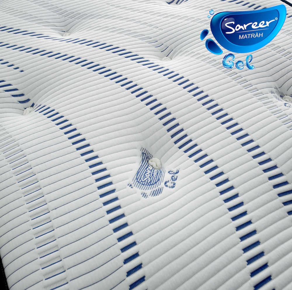 Laytex Gel Memory Pocket Sprung Mattress Sensation Sleep