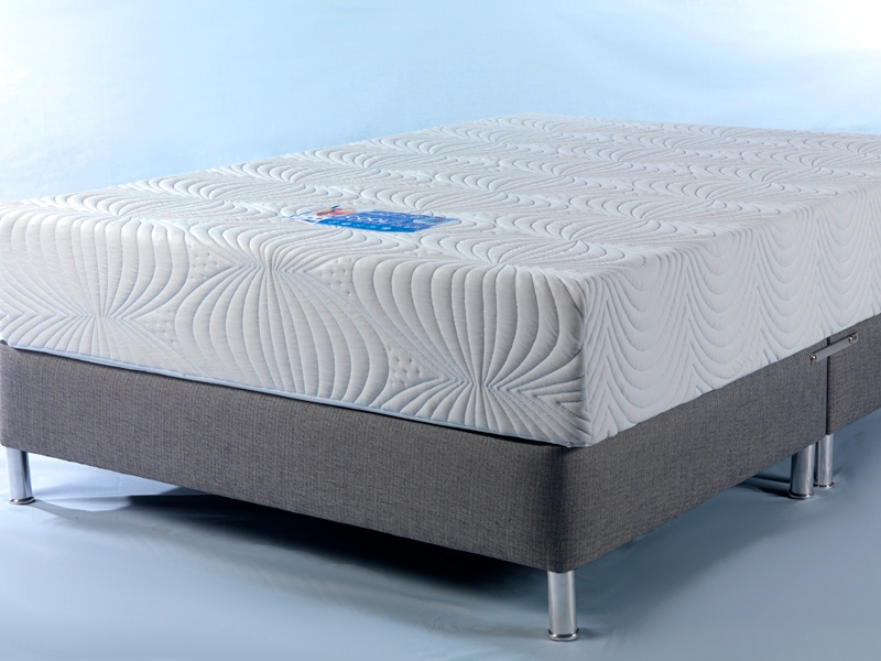 Cool Blue Memory Foam Mattress Sensation Sleep Beds And