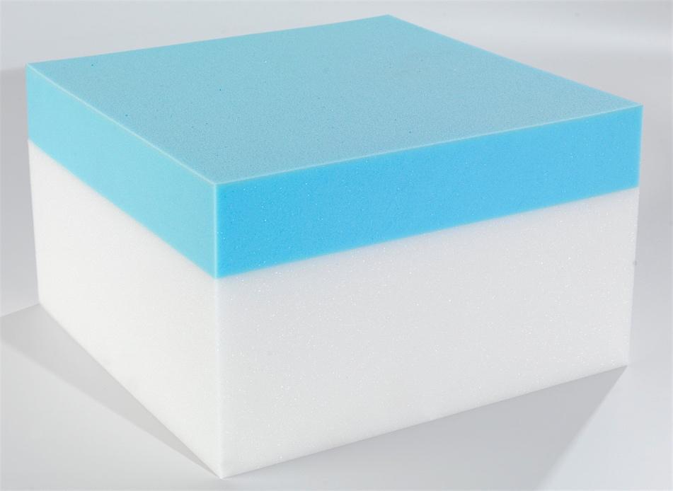 Custom Rectangular Coolblue Memory Foam Mattress Custom Size Beds Made To Measure Mattresses