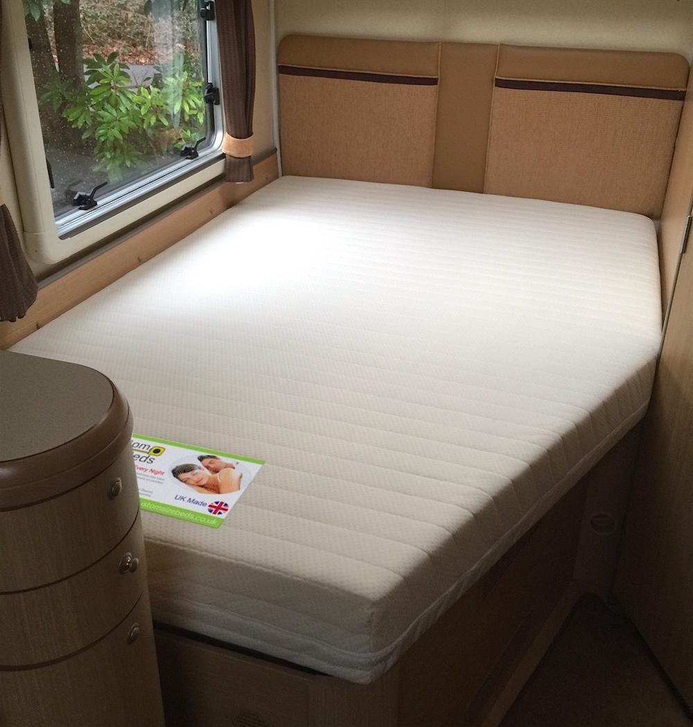 Premium Memory Foam Mattress With Diagonal Corner Cut Away