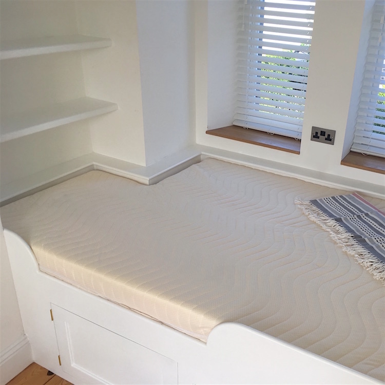 Laygel Foam Mattress Rectangular Section Cut Away Custom Size Beds Made To Measure Mattresses