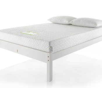 White Painted Bed Frame - Low Headend 2