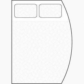 d shape mattress diagram