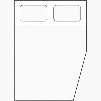 diagonal corner mattress diagram