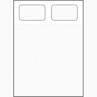 rectangular mattress diagram